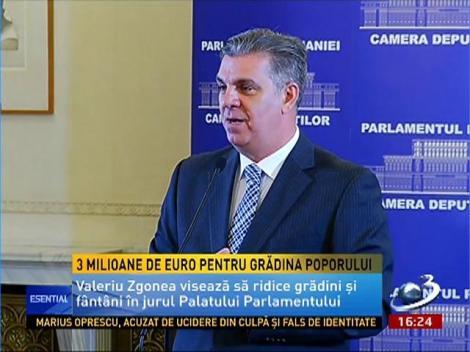 3 milioane de euro pentru Grădina Poporului