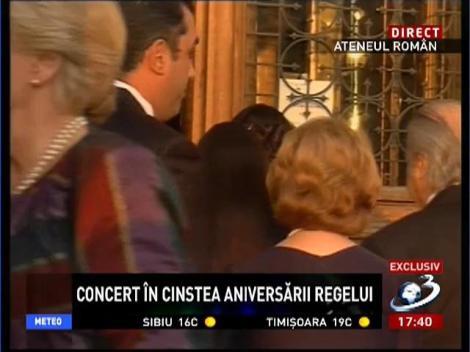 Concert în cinstea aniversării regelui
