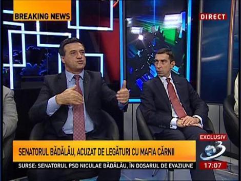 Senatorul Bădălău, la Antena 3