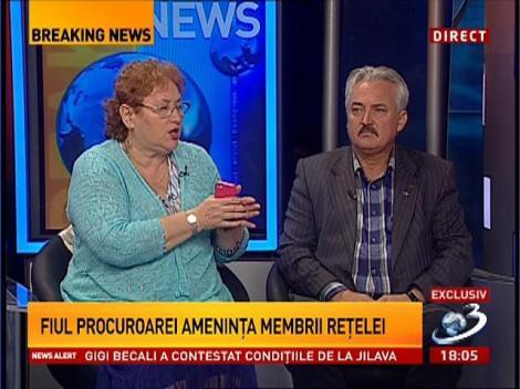 Exclusiv! Interceptări în dosarul evazioniştilor cu fiul procuroarei Angela Nicolae