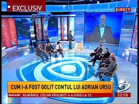 Sinteza Zilei: Cum i-a fost golit contul lui Adrian Ursu
