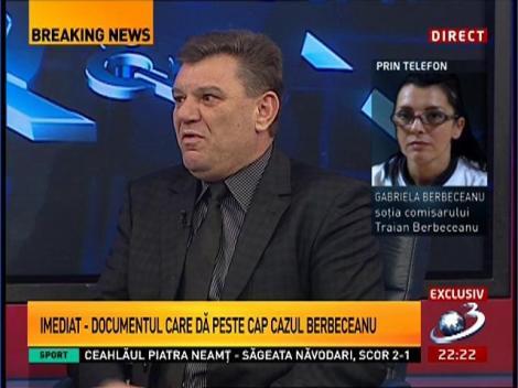 Gabriela Berbeceanu: Soțul meu nu este pericol public