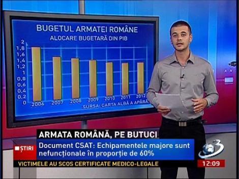 Armata Romaniei, pe butuci
