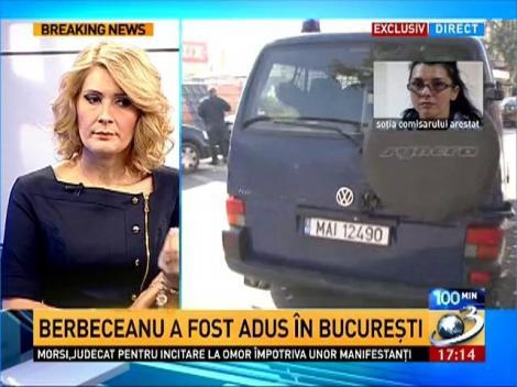 Gabriela Berbeceanu: Soţul meu a fost luat din arestul Alba şi adus la Bucureşti