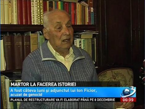 Costică Galavan, martor la evenimente care au marcat istoria României