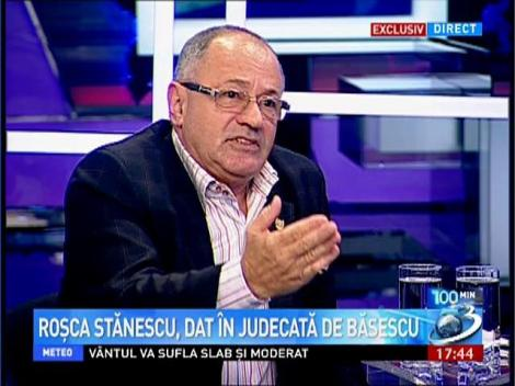 Rosca Stanescu, dat in judecata de Traian Basescu