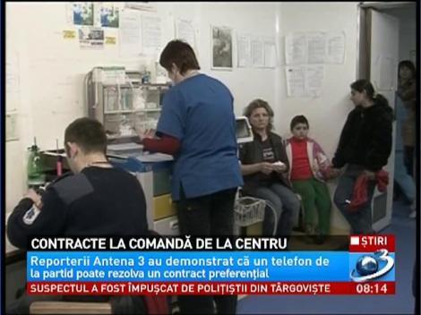 Reporterii Antena 3, au demonstrat că un telefon de la partid poate rezolva un contract preferenţial
