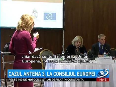 Cazul Antena 3 a ajuns în atenţia Consiliului Europei