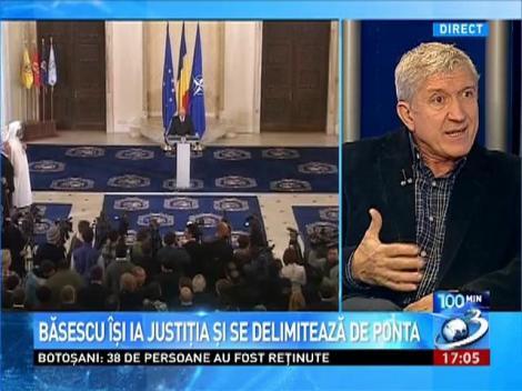 Mircea Diaconu: Cetăţeanul Băsescu Traian debitează şi rostogoleşte aceleaşi cuvinte