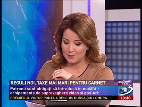 Reguli noi, taxe mai mari pentru carnet