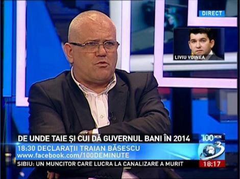 Liviu Voinea: Bugetul pentru sănătate este mai MARE, nu mai mic