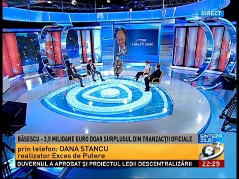 Sinteza Zlei: Tranzacţiile şi câştigurile lui Băsescu Traian