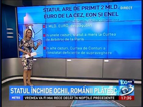 100 de Minute: Statul închide ochii, românii plătesc