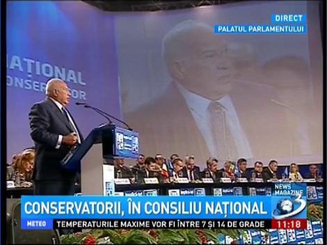 Dan Voiculescu, în Consiliul Naţional: PC ar putea avea candidat la alegerile prezidenţiale