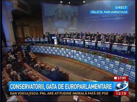 Discursul Mariei Grapini la Consiliul Naţional, în calitate de vicepreşedinte PC