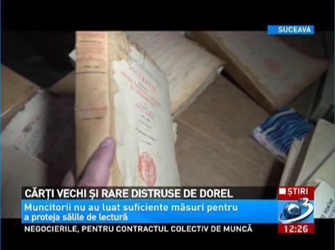 Cărţi vechi şi rare distruse de Dorel