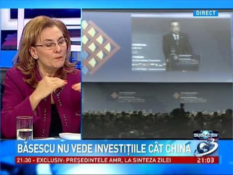 Subiectiv: Maria Grapini despre investiţiile chinezilor în România