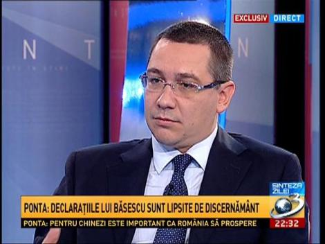 """Sinteza Zilei: Ponta, despre termenul de """"matrafoxat"""" folosit de purtătorul său de cuvânt"""