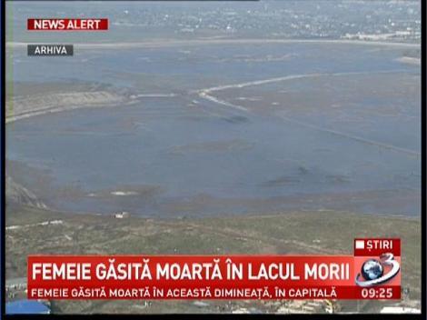 Femeie gasita moarta in Lacul Morii din Capitala