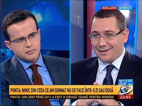 Sinteza Zilei: Ponta, despre investiţiile Chinei în România