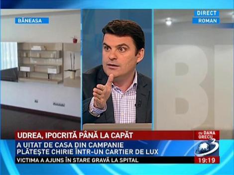 Radu Tudor: Doamna Udrea o să fie cel mai mare furnizor de banane româneşti