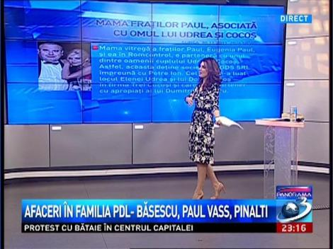 Panorama: Mama fraților Paul, asociată cu omul lui Udrea și Cocoș