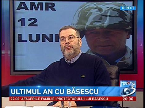 Bogdan Teodorescu: Traian Băsescu este un lider politic fără un partid adevărat în spate