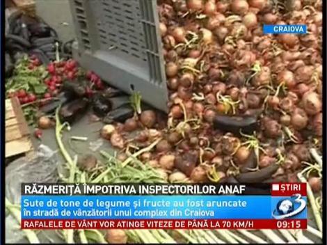 Scandal mare la Craiova după controalele inspectorilor ANAF