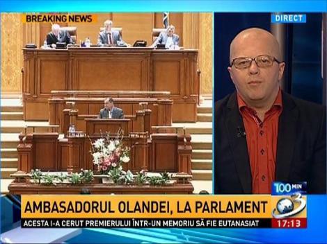 Adrian Ursu: Suntem totuşi ţară membră a U:E. cu drepturi depline. Dacă ne puţea gura şi eram uraţi, puteau să nu ne primească la momentul 2007