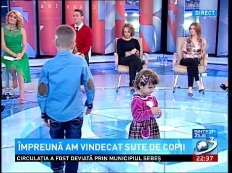Sinteza Zilei: Ionuț, copilul care a reușit cu ajutorul medicilor români