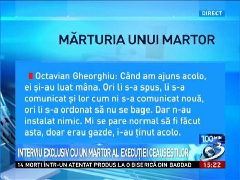 Dezvăluiri INCREDIBILE despre ASASINAREA Ceauşeştilor. Ultimele cuvinte ale lui Nicolae Ceauşescu: ISTORIA MĂ VA RĂZBUNA