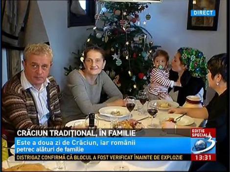 Craciun traditional in familia lui Nicolai Tand