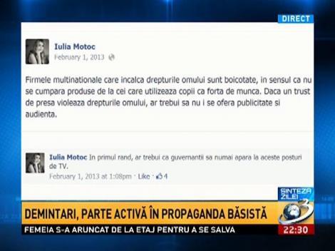 Judecătoare CCR, Iulia Motoc şi Elena Udrea, în tandreţuri pe melodiile colonelului Turcescu