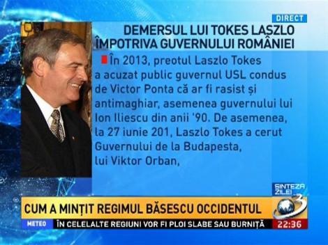 Demersul lui Tokes împotriva guvernului României