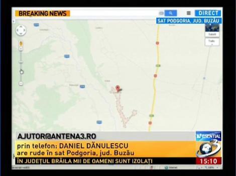 Antena 3este alături de sinistrați