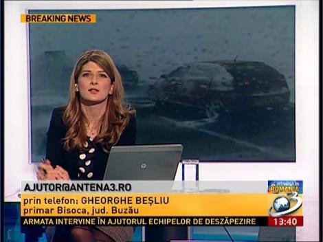 Sinstrații apelează la ajutorul Antena 3