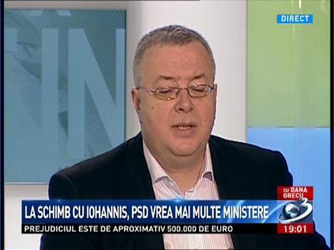 Bogdan Chirieac: PNL şi Antonescu îşi doresc să aibă instituţiile de forţă, ca o garanţie suplimentară