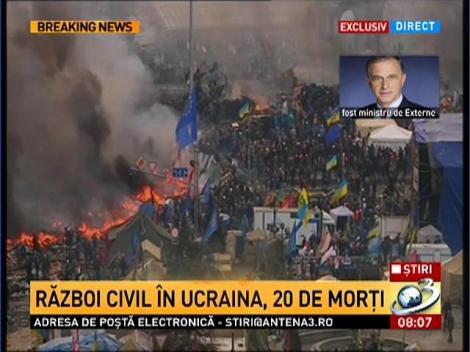 Mircea Geoană: Criza ucraineană reprezintă un subiect de maximă îngrijorare