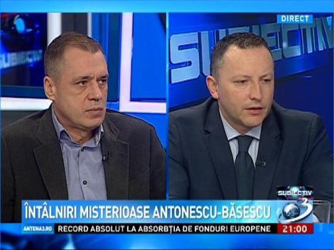 Răzvan Mironescu, despre întâlnirile misterioase dintre Antonescu şi Băsescu