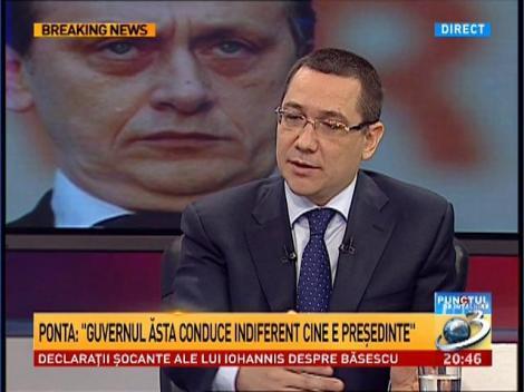 Ponta, despre candidatura lui George Maior la prezidenţiale: Nu cred că îşi doreşte