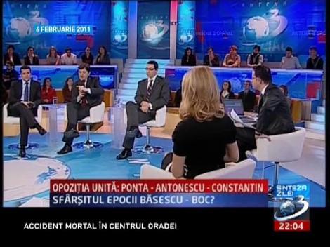 SINTEZA ZILEI. Ce spuneau liderii USL în februarie 2011