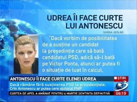 Antonescu îi face curte Elenei Udrea