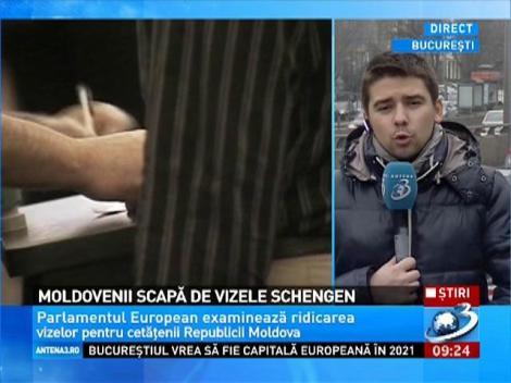 Moldovenii scapă de vizele Schengen