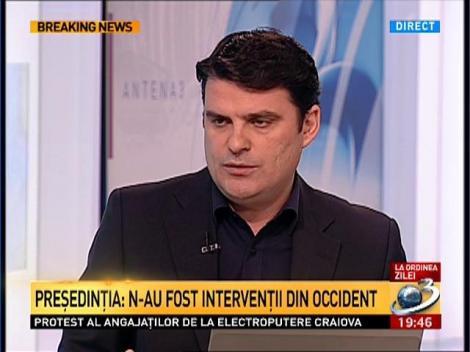Radu Tudor, despre întâlnirile lui Antonescu cu Băsescu: Mie să nu-mi vândă gogoşi