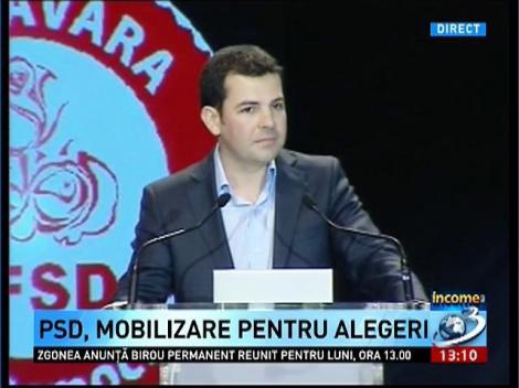 Daniel Constantin, la reuniunea PSD: Crin numai exista!