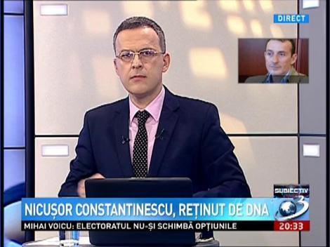 Radu Mazăre, despre starea de sănătate a lui Nicuşor Constantinescu
