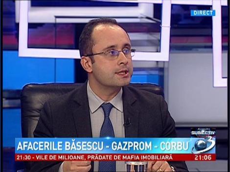 Subiectiv: Afacerile Băsescu-Gazprom- Corbu