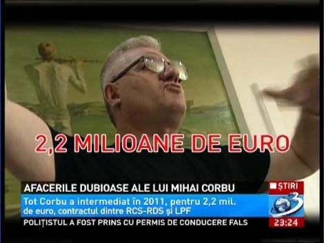 Afacerile dubioase ale lui Mihai Corbu