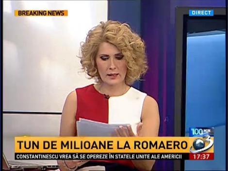 Tun de milioane la ROMAERO