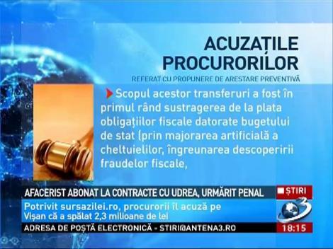 Afacerist abonat la contracte cu Udrea, urmărit penal